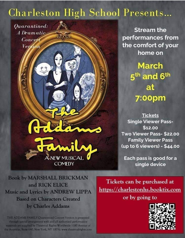 CHS Presents The Addams Family Musical