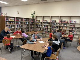 7th Grade Students Publish Books for Ashmore Kindergarteners