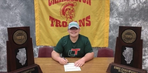 Blake Wolfe signs letter of intent