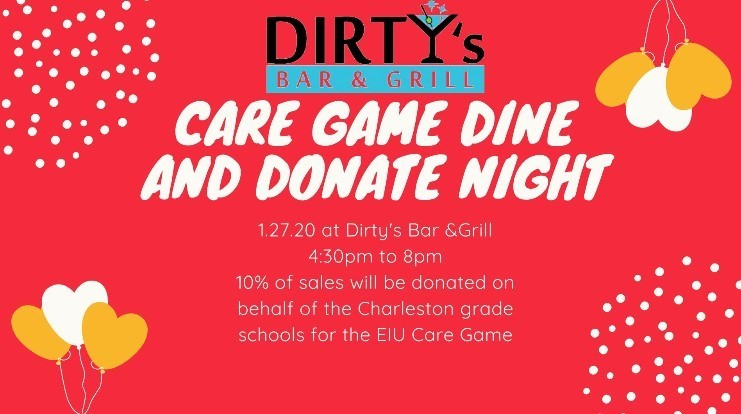 Dirty's CARE game Dine-N-Donate night
