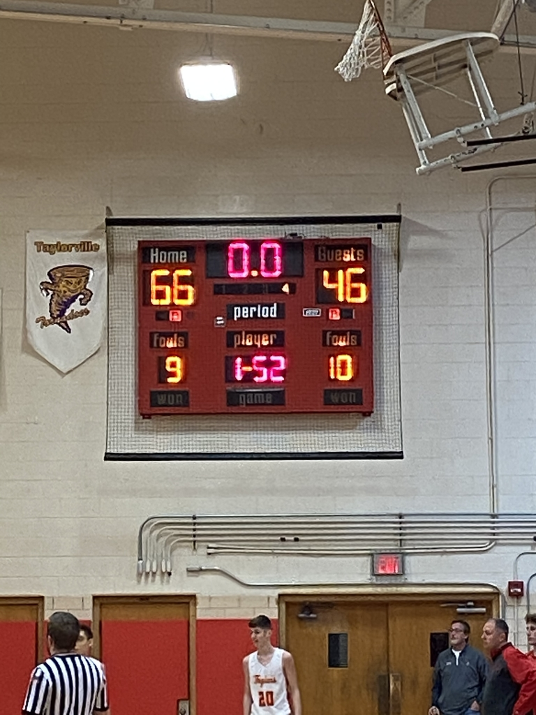 Scoreboard Charleston, home team, 66 points defeats Mahomet-Seymour, guest team, with 46 points.