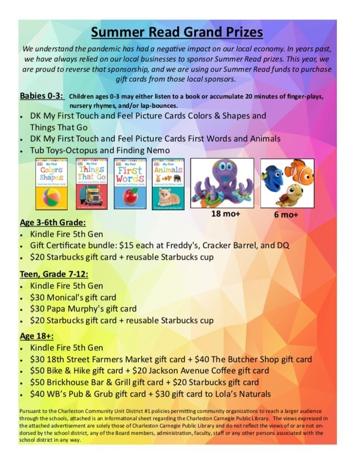 Library Summer Read Program