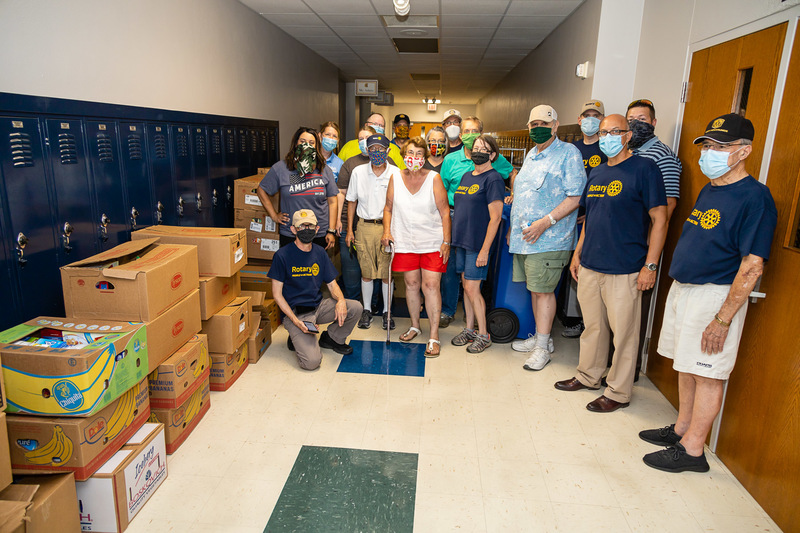 Charleston School District Food Distribution Crew